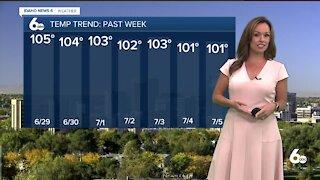 Rachel Garceau's Idaho News 6 forecast 7/6/21