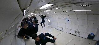 Inspiration 4 crew conduct training at McCarran Airport