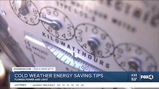 Saving energy during cooler weather