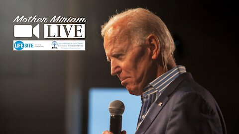 Biden's speeches on unity and human dignity contradict his pro-abortion actions.