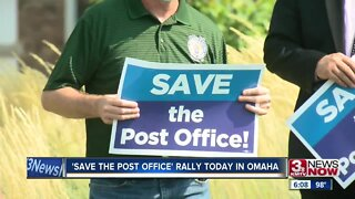 Save the Post Office rally held Tuesday
