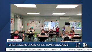 Mrs. Glace's class gives a shout out!