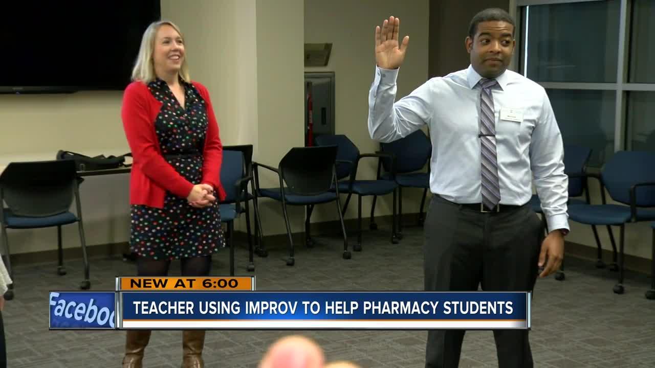Teacher uses improv to help pharmacy students