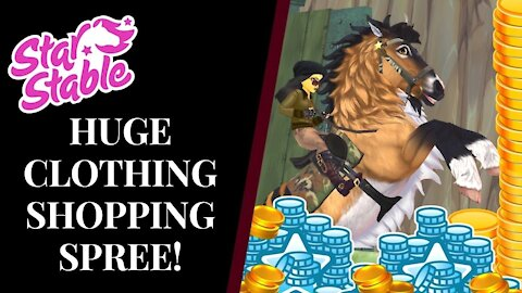HUGE 25,000+ SHOPPING SPREE! Star Stable Quinn Ponylord