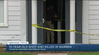 Teen arrested in killing of 10-year-old in Warren