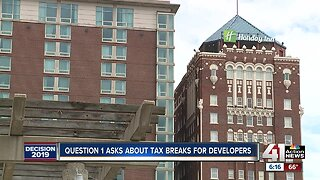 KCMO voters to tackle tax incentives in Question 1 on Tuesday's ballot