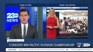 23ABC Sports: Condors clinch Pacific Division title