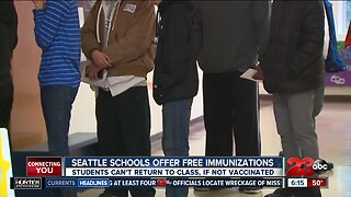 Seattle schools offer free immunizations