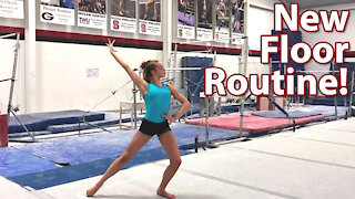 New Floor Exercise Routine!   Whitney Bjerken