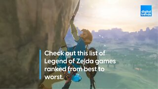 Check out this list of Legend of Zelda games ranked from best to worst.