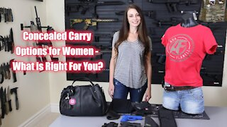 Concealed Carry Options For Women - What Is Right For You?