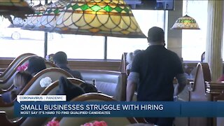 Wisconsin small businesses struggling to find qualified workers, report says