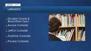 Denver Library starts curbside pickup today