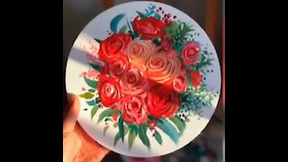 Esay flower painting ideas for beginners