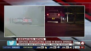 Deputies investigating scene in Bonita Springs