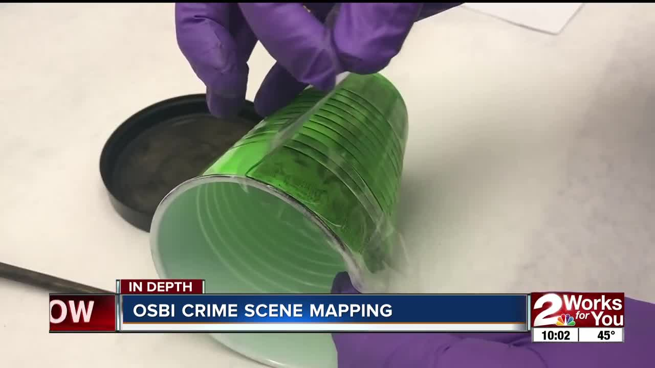 OSBI crime scene mapping
