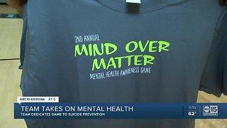 Basketball team tackles mental health awareness