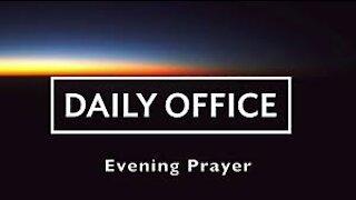 Evening Prayer - Jan 21, 2021