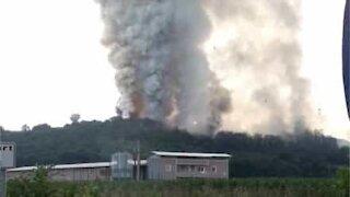 Fireworks factory in Turkey explodes
