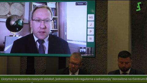 Posiedzenie ZP d/s Bezp. i Obronności - m.in.: prof. Piotrowski, dr Sykulski, pos. Korwin-Mikke