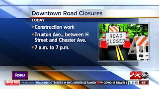 Downtown road closures today