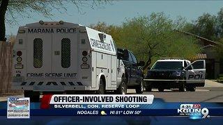 Marana Police investigating officer-involved shooting, 1 person dead