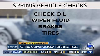 Getting your vehicle ready for Spring Break