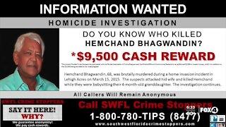 Reward offered for information on Lehigh Acres murder