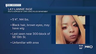 Cape Coral Police search for endangered teen