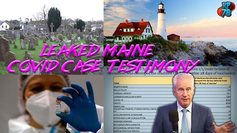 Leaked Testimony In Maine Case Reveals True Dangers Of Experimental Jabs