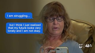 Kansas City moms start group text after losing children to suicide
