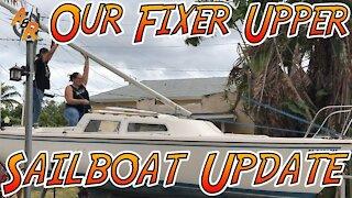 Catalina 22 Sailboat Progress Update - Episode 8