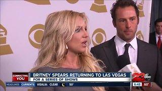 Britney Spears returning to Las Vegas