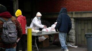 Feeding the poor despite COVID indoor restrictions