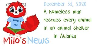 LNE.news - Milo's News - 12-31-2020 - Keith Walker, a Homeless Man, Saves Many Animals from a Fire