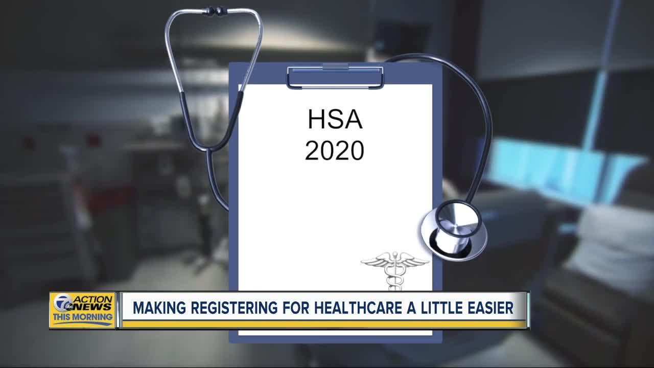 Making registering for healthcare a little easier
