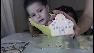 Easter Cookies Decorating Cookies with Nana