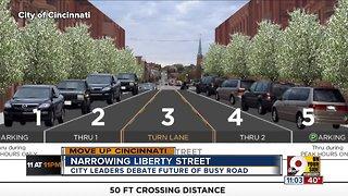 Cincinnati City Council mulls narrowing Liberty Street