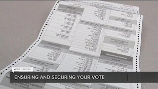 Ensuring and securing your vote