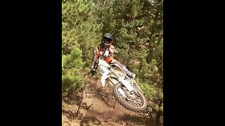 BMX Rider Has Close Encounter With A Cameraman