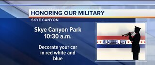Skye Canyon honoring our military