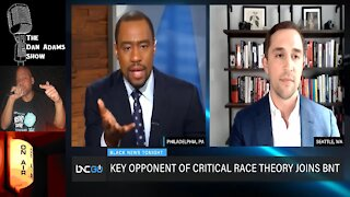 Marc Lamont Hill Asks A White Man. Name Something Positive About Being White?