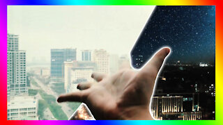 Sky night changes in your hand | BDIY Cool Trick