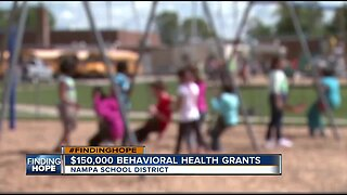 Nampa School District receives $150,000 grant to improve youth behavioral health
