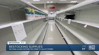 Arizona National Guard restocking stores across the Valley