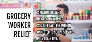 New relief fund for grocery store workers