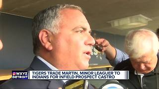 Tigers make one trade at deadline