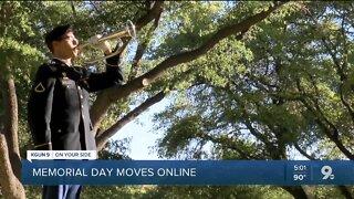 Memorial Day remembrances move online