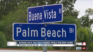 Woman robbed while walking home Fort Myers