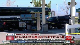1 killed, 5 injured in 'Greyhound shooting'